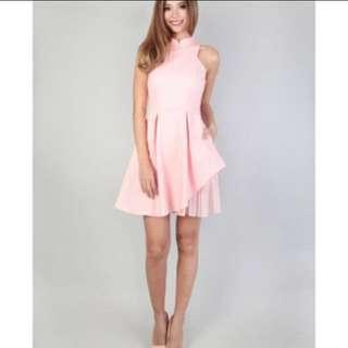 MGP label linn side pleat cheongsam dress