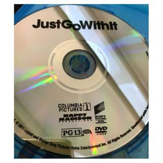 BRAND NEW DVD - JUST GO WITH IT (ORIGINAL USA IMPORT CODE 1)