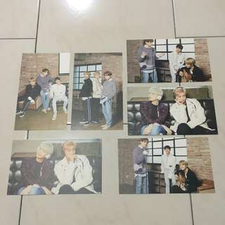 bts x mediheal photocards