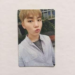 ON HAND Seungkwan Seventeen - Going Seventeen Make A Wish Official Photocard MAW