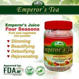 Emperor's Tea 4 Seasons Juice 350g