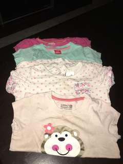 T shirt baby girls 1 years old