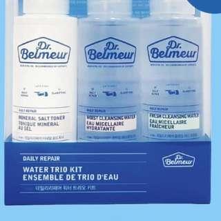 The faceshop Dr Belmeur cleansing water set