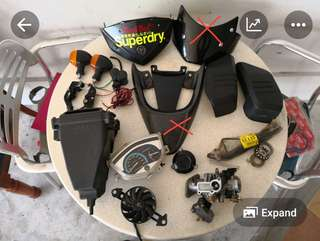 Spare parts (spark and FZ16)