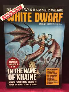 White Dwarf Magazine March 2018