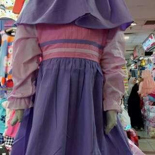 Baju Gamis Katun anak