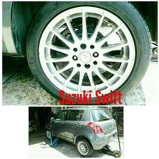 Tyre 205/50 R16 Membat on Suzuki Swift 🐕 Super Offer 🙋♂️