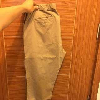 Uniqlo khaki jogger pants