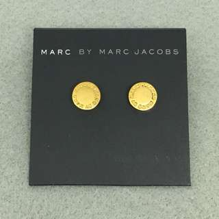 Marc Jacobs Sample Earrings 金色圓形經典耳環