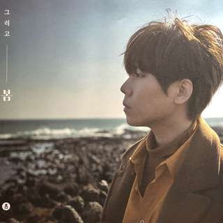 JUNG SEUNG HWAN : And Spring 1st Album ~ Official Poster