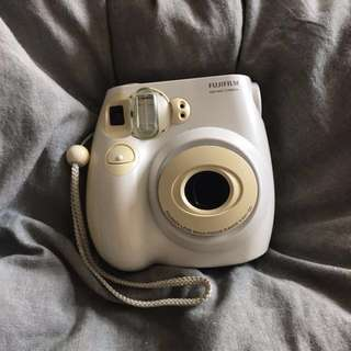 White Fujifilm Instax Mini