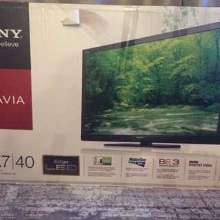 "Sony Bravia 40"" LED TV"
