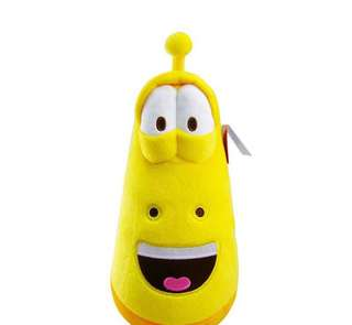 Larva soft toy