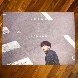 JEONG SEWOON ~ Part.1 EVER : Official Poster
