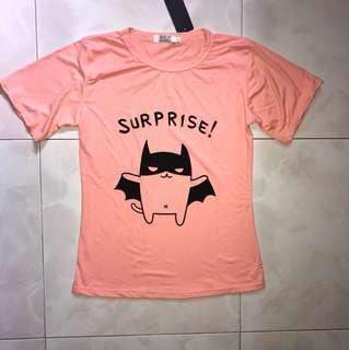Pink Batman tee