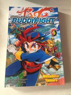Buddyfight Comic Book
