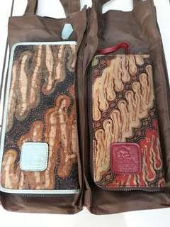 Dompet batik tulis (ziba label)