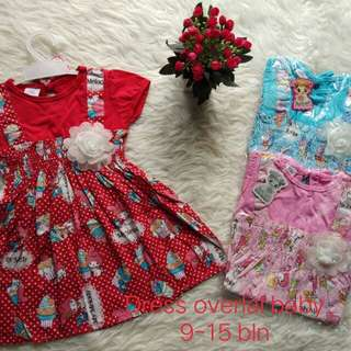 Dress bayi katun