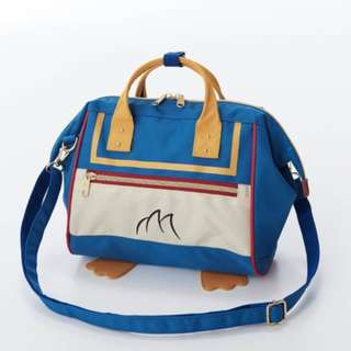 Japan Disney Donald Duck Blue Series Shoulder Bag Preorder