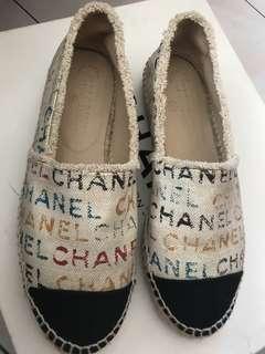 Authentic Chanel Espadrille Shoes