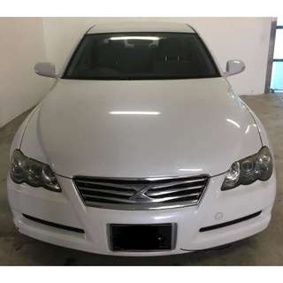 Toyota Mark X (GRAB & UBER Enabled)