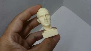 1/6 scale Wwii table display head statue resin