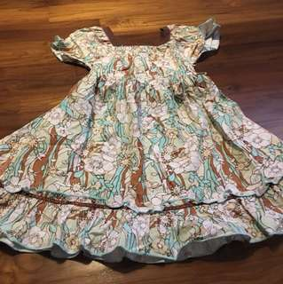 Girl cotton dress