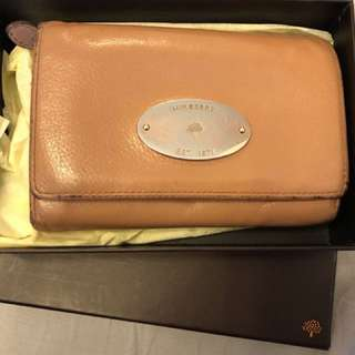 MULBERRY 銀包 medium leather purse
