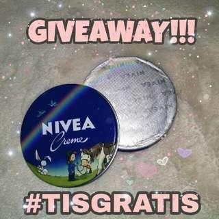 GRATIS NIVEA CREME LIMITED EDITION!! #GIVEAWAY #TISGRATIS