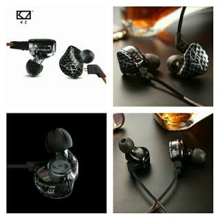 🆕🆒New  KZ ZST Balanced Armature With Dynamic In-ear Earphone BA+DD Driver Noise Cancelling Headset