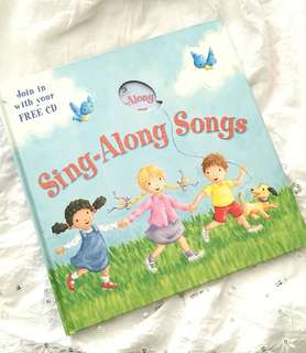 Charity Sale! Sing-Along Songs with Free CD inside book