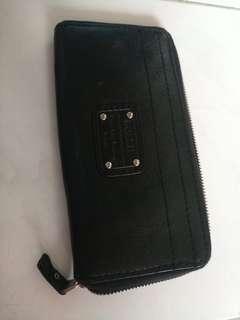 Fossil wallet black