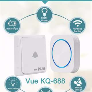 KQ-688 Batteryless Wireless Door Bell (up to 150m)