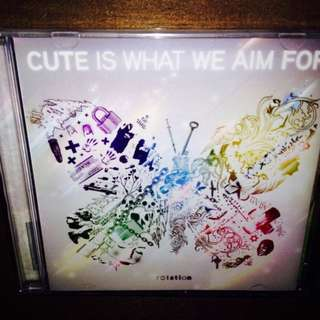 Cute Is What We Aim For-RotationCD (NM)