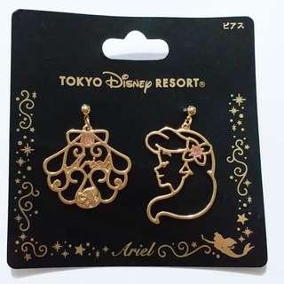 日本東京迪士尼海洋小魚仙耳環