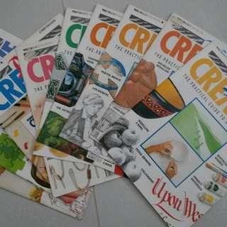 BE CREATIVE craft magazines