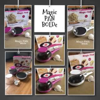 Magic Pan Bolde 10 In 1 Panci Teflon Listrik Multifungsi