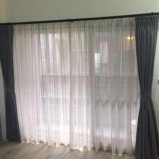 🚚 富居窗簾最低價!專業服務專業品質!挑壁紙 窗簾 地板請看這!