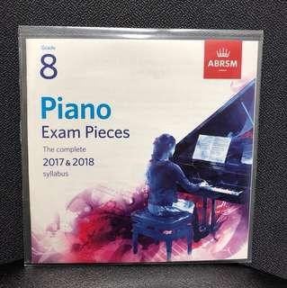 ABRSM GRADE 8 Piano Exam Pieces CD