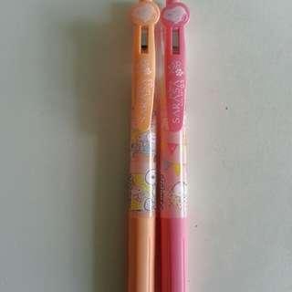 New peanuts sarasa pens