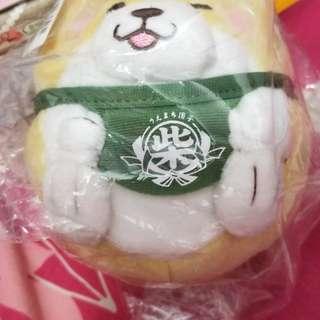 日本景品麻薯柴犬散銀包(黃色)