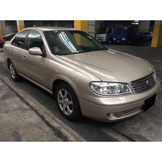 16/03-19/03/2018 NISSAN SUNNY ONLY $180.00 (P PLATE WELCOME)