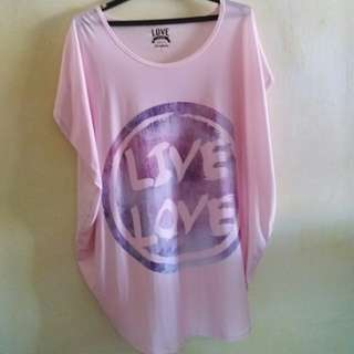 Giordano Pink Top