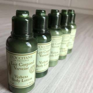 Loccitane Verbena Body Lotion Travel Size 50ml