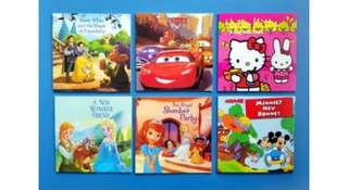 6pc children's story books