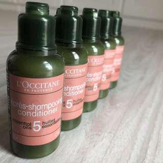 Loccitane Repairing Conditioner Essential Oils Travel Set 50ml x 5