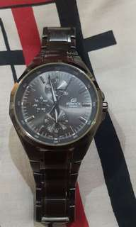 Jam tangan pria casio edifice