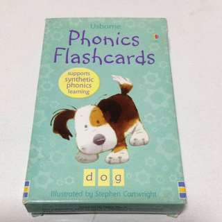 Usborne Phonics Flash cards