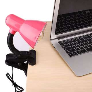 Clip-on lamp