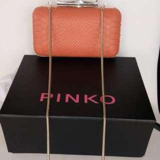 Pinko Orange Shoulder Bag